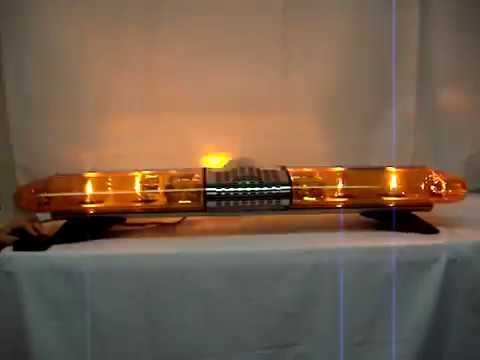 Amber Emergency Vehicle Halogen Rotator Warning Lights