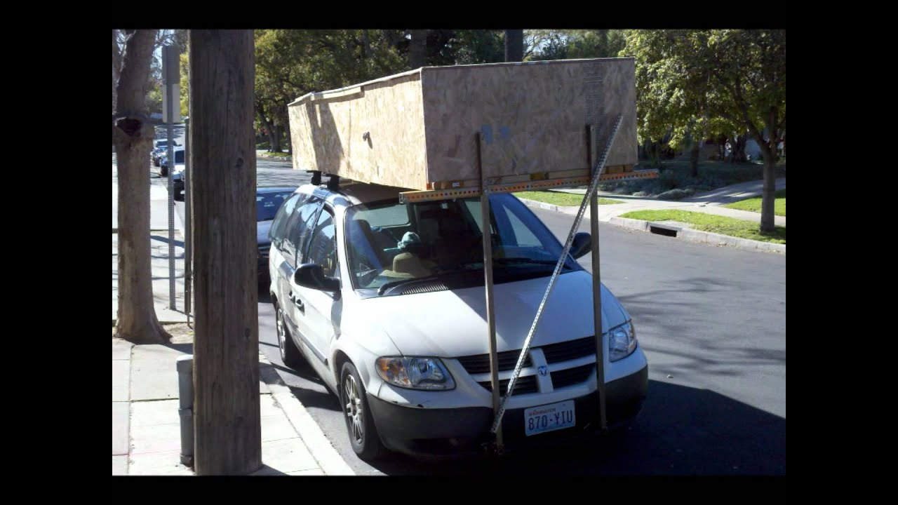 Dodge Caravan With Ultimate Roof Rack Youtube
