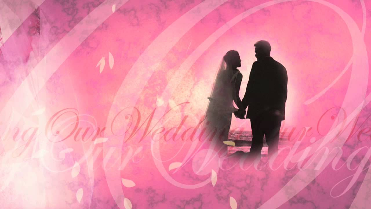 Our Wedding Free Video Background Loop Animation