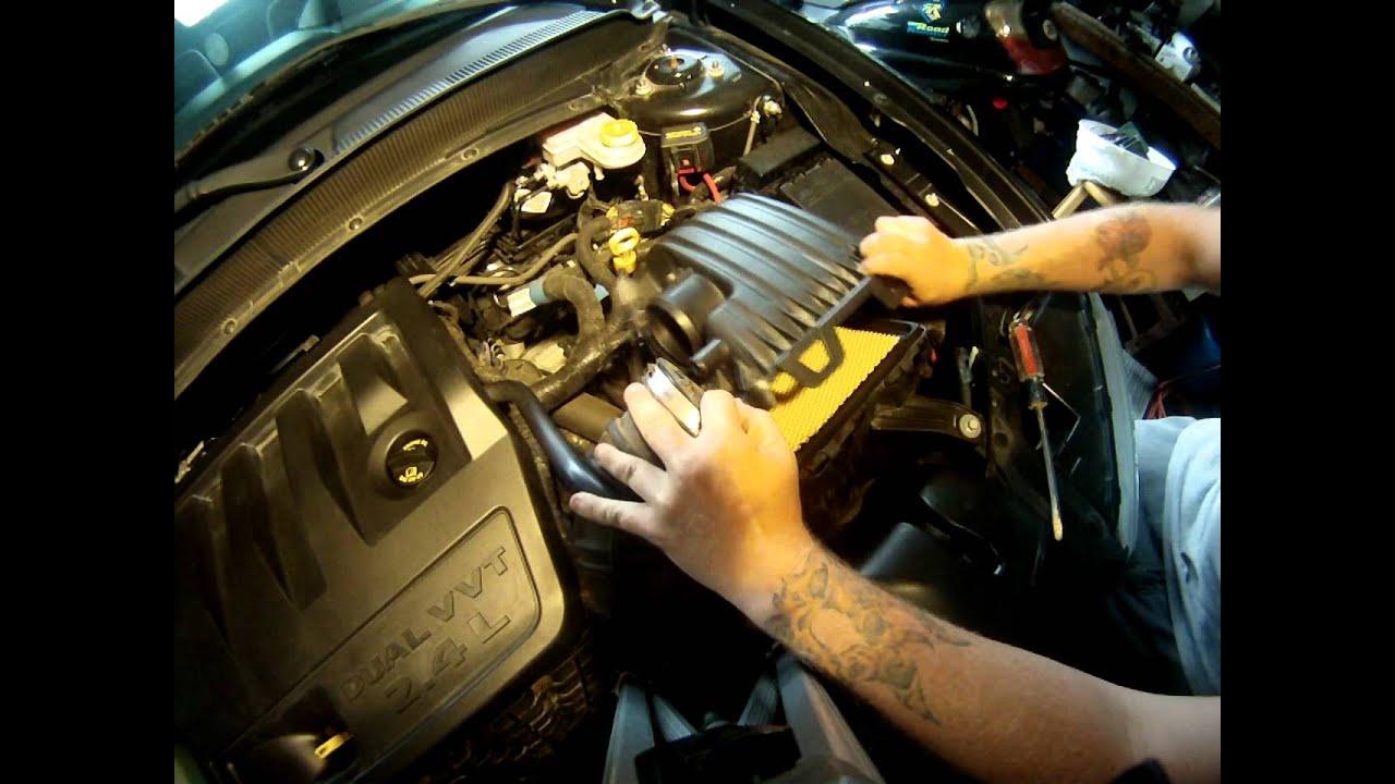 [EQHS_1162]  Air filter replacement-2010 Dodge Avenger - YouTube | 2010 Dodge Avenger Fuel Filter |  | YouTube
