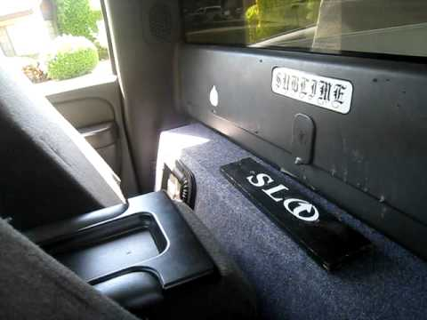 2 Kicker L5 S 12in Chevy Single Cab 06 Rockford Fosgate