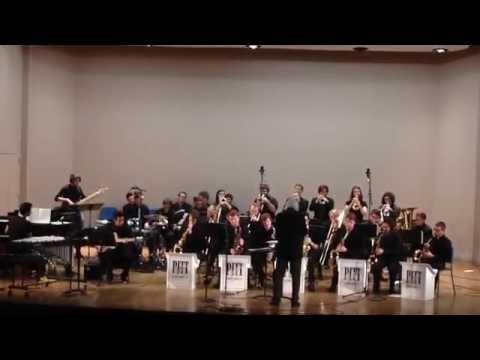 Hail to Pitt - University of Pittsburgh Jazz Ensemble - Gabriel Melo (on the guitar)