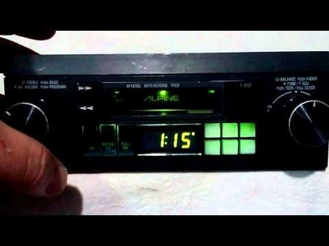 [SCHEMATICS_4US]  Vintage Alpine 7280 am/fm cassette car stereo - YouTube | Alpine 7163 Wiring Harness |  | YouTube