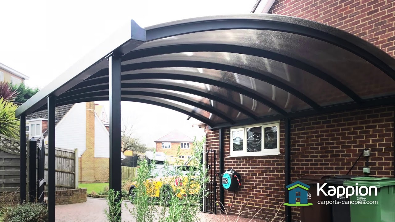 Karpot Steel Curved Carport Canopy - The Ultimate Protection - Youtube