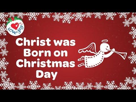 Christ was Born on Christmas Day with Lyrics 2018   Christmas Song and Carol