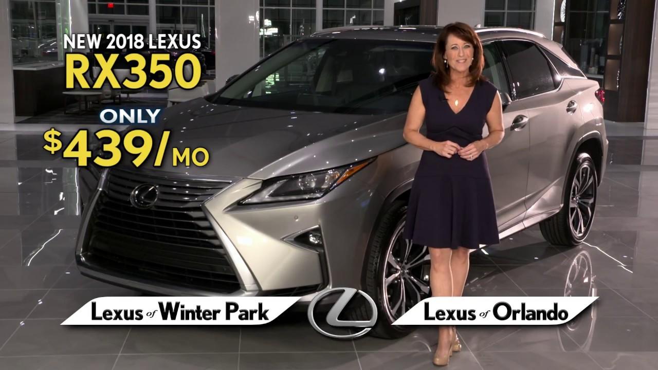 Lexus Of Winter Park Lexus RX Spring Collection Sales - Winter park car show 2018