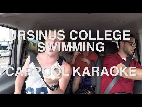 Ursinus College Swimming Carpool Karaoke