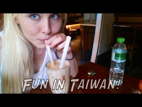 """Fun In Taiwan!! (""""Here Comes Vi"""" & """"Get Jinxed"""" live!) - Travel Vlog"""