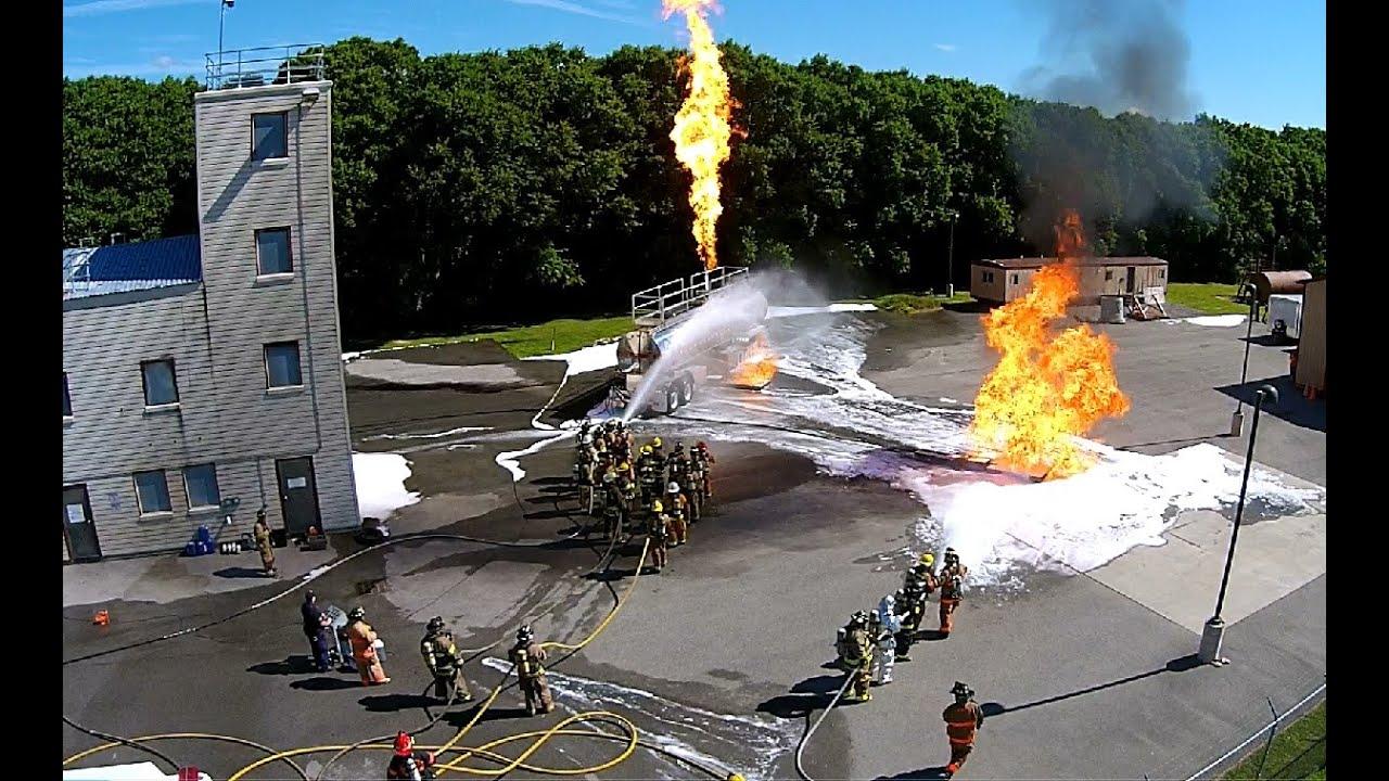 Niagara County: Live Fire Class B Foam Operations Class 7