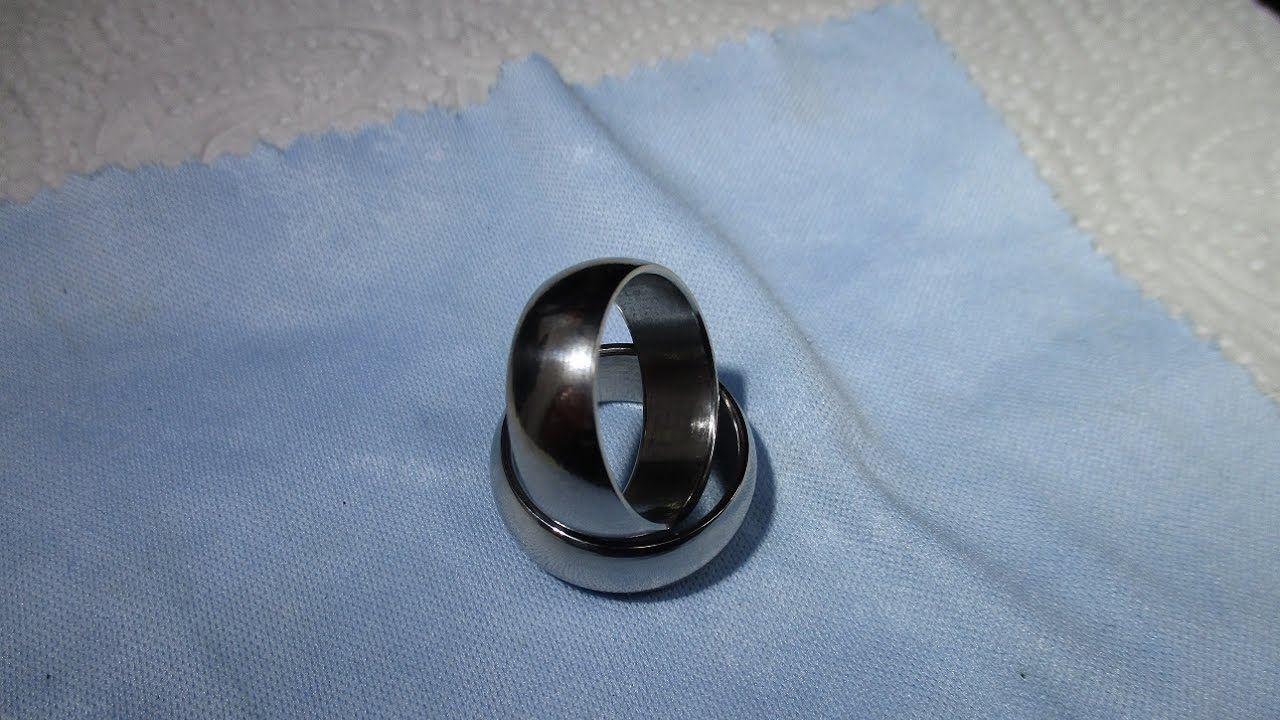 and girlfriend made rings m freshman for mechanical ring engineer a lathe i my this im