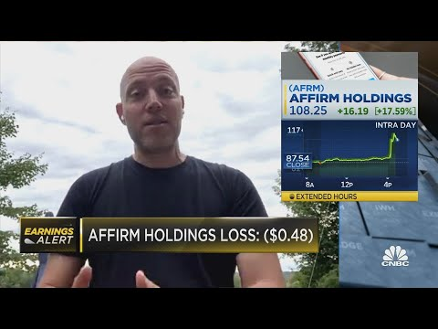 Affirm earnings hit on the upside