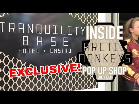 Inside Arctic Monkeys Pop Up Shop: Tranquility Base Hotel + Casino