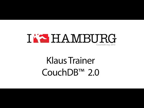 CouchDB Day 2015 - Klaus Trainer - CouchDB 2.0