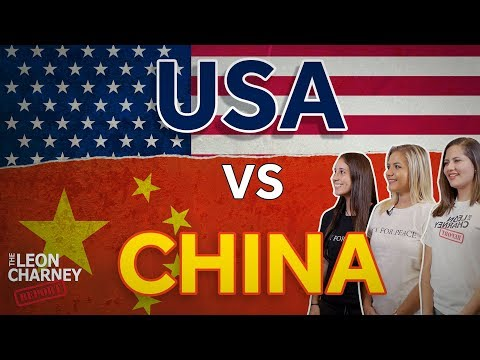USA vs CHINA - Which Will Lead the World? | Leon Charney Reporters