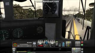 Train Simulator 2013 HD EXCLUSIVE: NJT NEC Diesel Powered 2:30 Local Train Jersey Ave to NWK-Penn