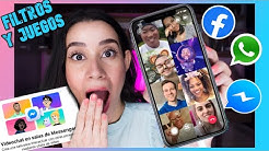 💥 MESSENGER ROOMS - SALAS DE VIDEOCHAT EN FACEBOOK Y WHATSAPP📱📞