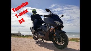 Test ride Yamaha T-max DX 2018 .