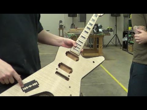 Dean Guitar Factory Tour Part 1of 2 - Gearsy.com