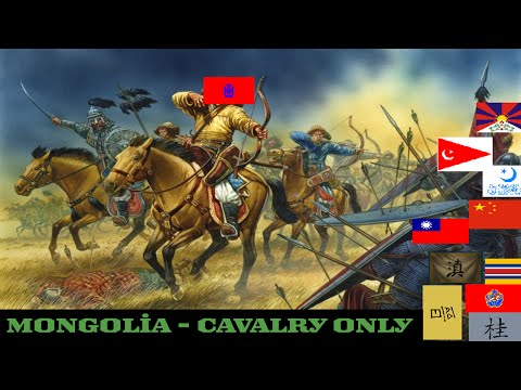 Hearts of Iron IV Mongolia - Cavalry Only 01