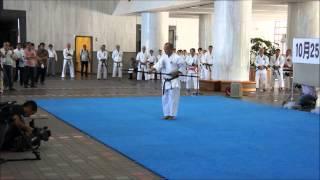 Kobujutsu kata by Akamine Hiroshi sensei to celebrate