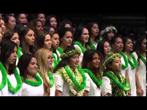 Kamehameha Song Contest 2015 - Senior Coed