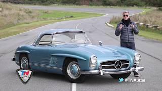 Mercedes-Benz 300 SL Roadster 1958 de Fangio - Contacto - Matías Antico - TN Autos