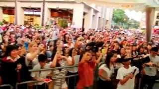 Jedward CD signing Singapore