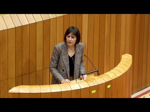 Ana Pontón: «Os orzamentos de 2021 son a mesma rutina e a mesma propaganda de sempre»