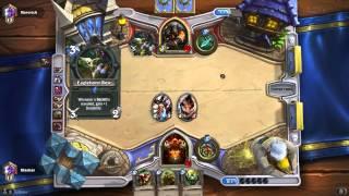 [Hearthstone] Construit, Warrior #1 : test du deck Guerrier en classé 1