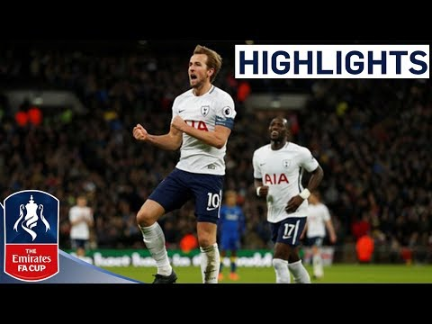Tottenham 3-0 AFC Wimbledon Official Highlights | Kane Scores Twice | Emirates FA Cup 2017/18
