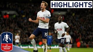 Tottenham 3-0 AFC Wimbledon Official Highlights  Kane Scores Twice  Emirates FA Cup 201718