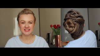 Fryzura w sytuacjach awaryjnych | upięcie na upały i nieświeże włosy