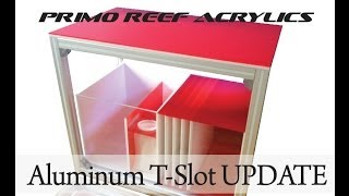 "Aluminum T Slot Stand (36""x22""x30"") - Update"