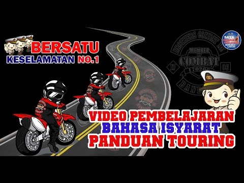 SAFETY RIDING - Bahasa Isyarat Panduan Touring - BROTHERS COMBAT MC _ Official Bikers Indonesia