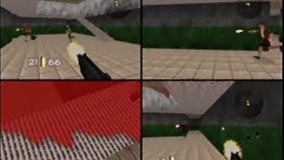 GoldenEye 007 N64 Multiplayer Gameplay Stack Timed Mines