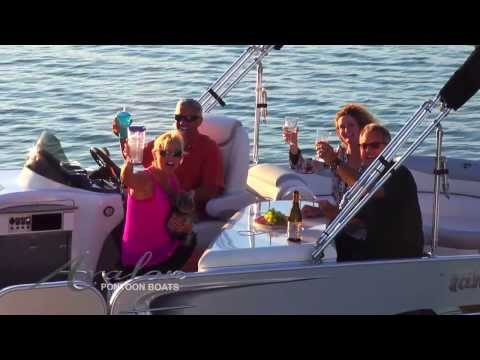 2014 Pontoon Boats - Avalon Ambassador - Avalon Pontoons - Luxury
