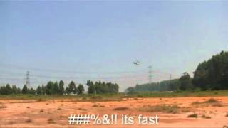 Sikorsky X2 - testing tail motor autogyro