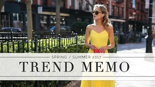The Top 10 Fashion Trends To Know This Spring and Summer  | Memorandum by Mary Orton