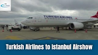 Turkish Airlines to Istanbul Airshow