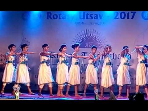 Chanda Public School group dance@Rotary utsav Chandrapur..first prize winner