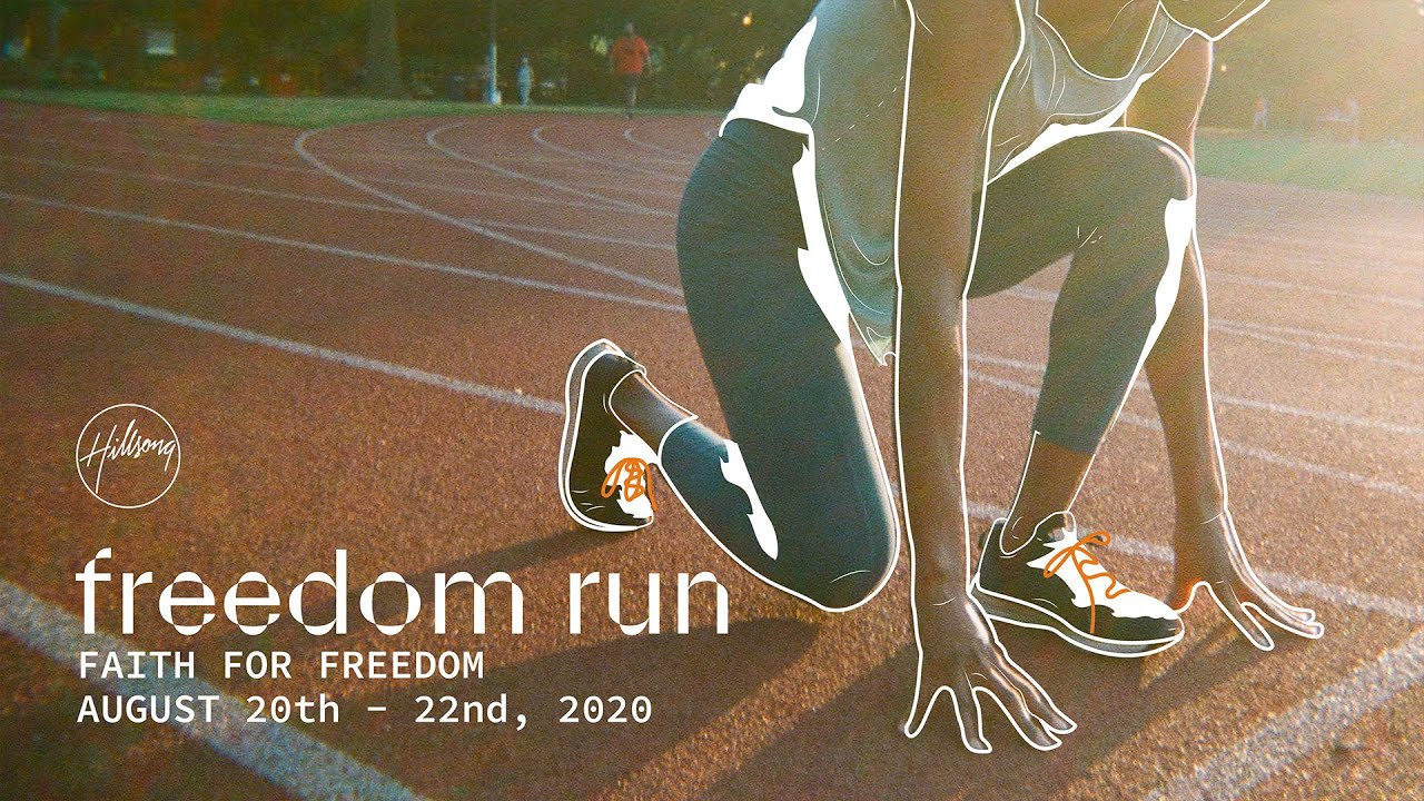 Together in one accord, we have Faith for Freedom. — Hillsong East Coast FREEDOM RUN