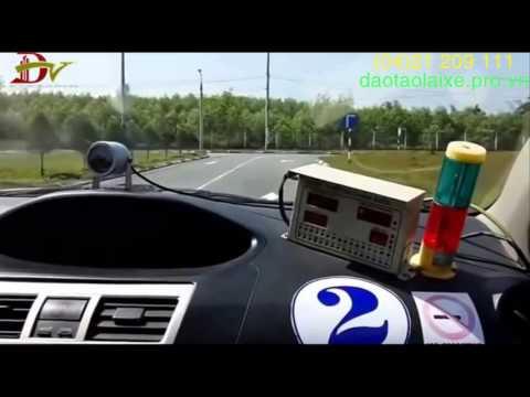 Hướng dẫn thi sát hạch lái xe đạt 100 điểm
