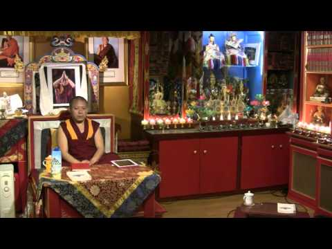 Awarenesses and Knowers with Geshe Ngawang Tenley - 2016-04-