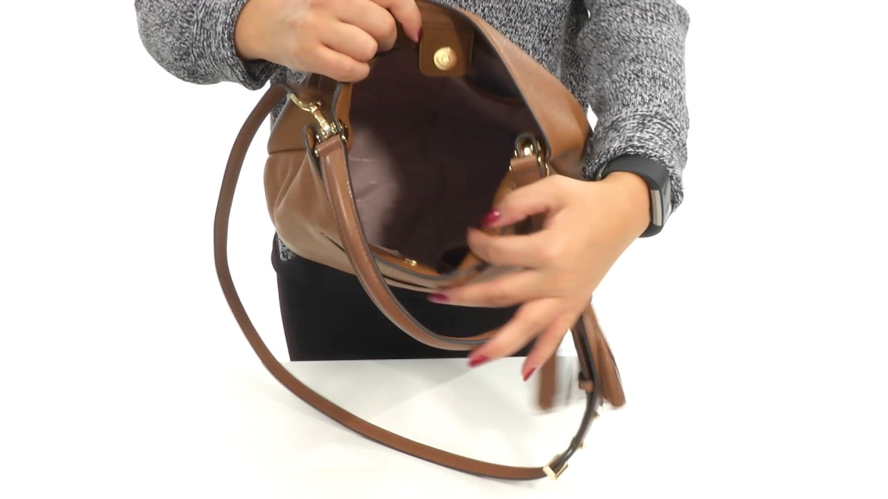 1fd6b000fda2 MICHAEL Michael Kors Kip Large Bucket Bag SKU:8834446 - YouTube