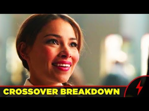 Crisis on Earth X Crossover Breakdown  EVERY EASTER EGG AND THINGS YOU MISSED!