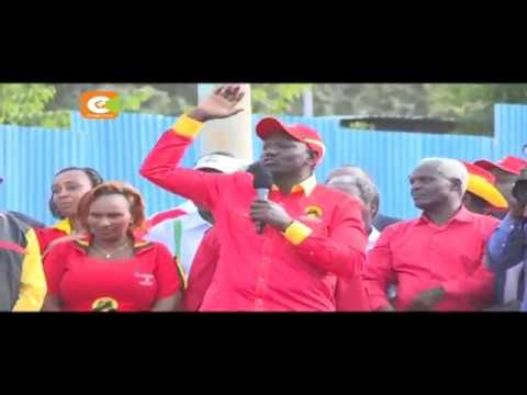 Kenyatta claims Odinga plotting to rig poll