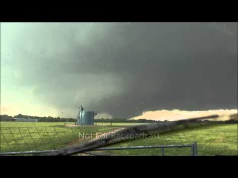 Violent EF5 Moore Oklahoma Wedge Tornado Birth to Finish May 20, 2013