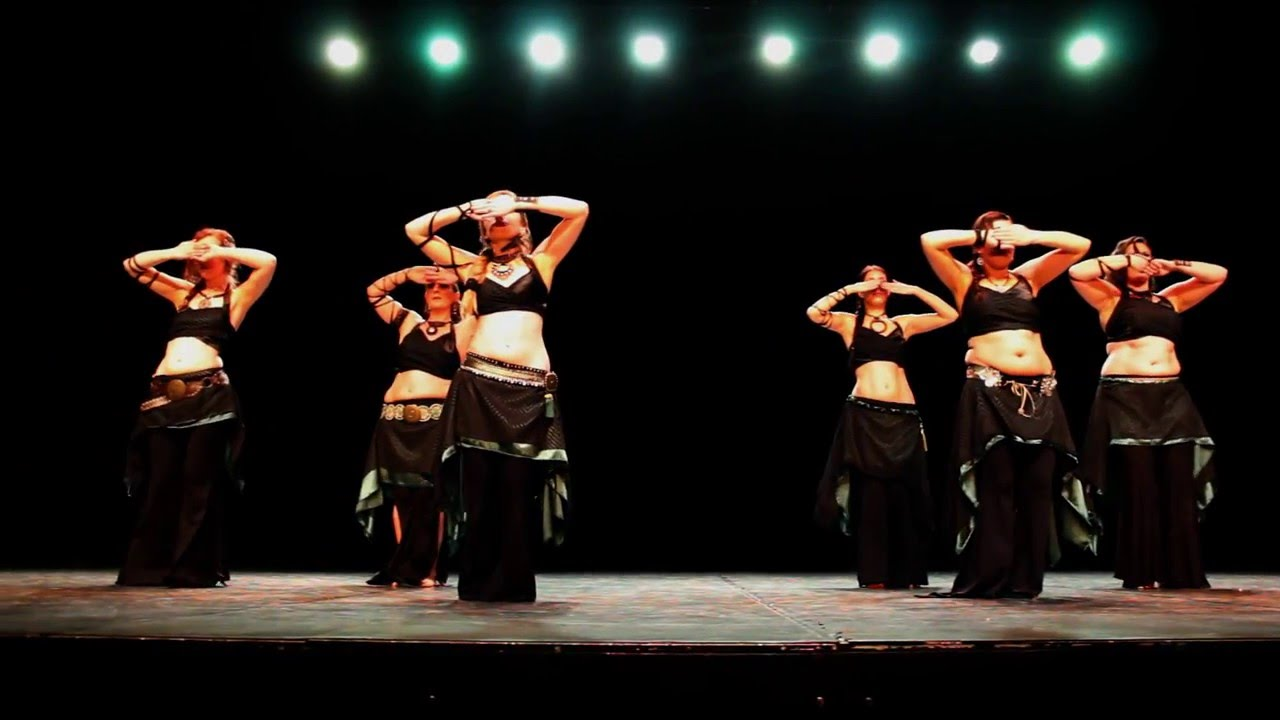 Terpsichore Tribal Fusion @ Afro-Tribalesques 2016 (choreography by Ephedra)