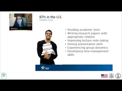 Intensive English Programs in the United States