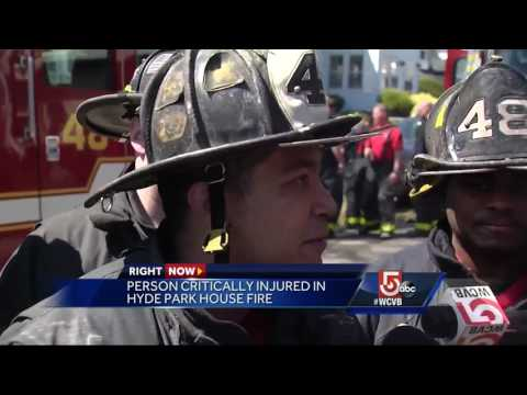 Person critically injured in Hyde Park fire